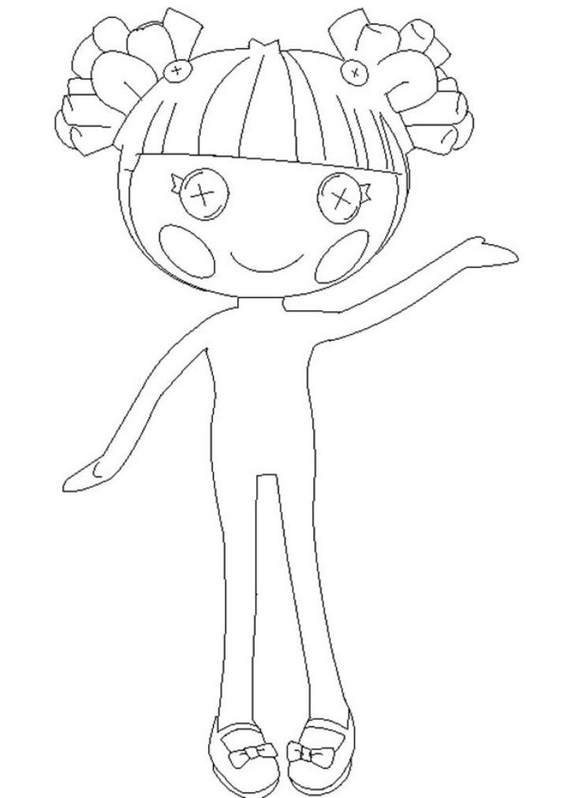 816x1146 Giving Task For Kids To Have Lalaloopsy Coloring Pages