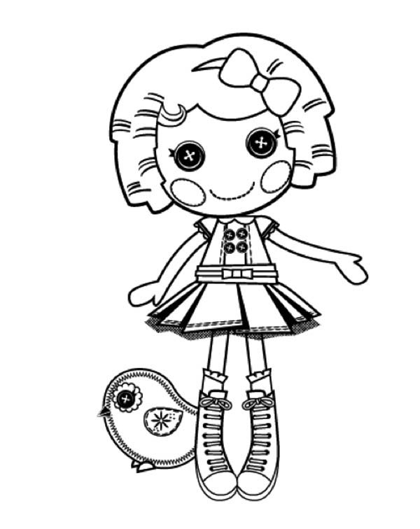 600x756 Its A Blast Say Dot Starlight In Lalaloopsy Coloring Page Color Luna