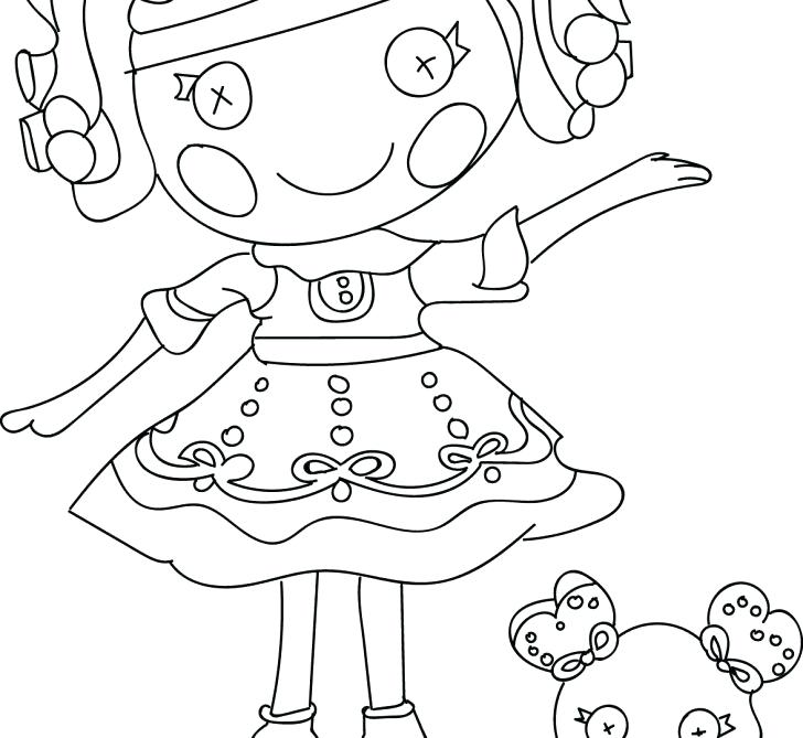 Lalaloopsy Coloring Pages Pdf At Getdrawings Com Free For Personal