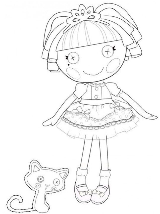 643x861 Lalaloopsy Coloring Pages Colouring Pages