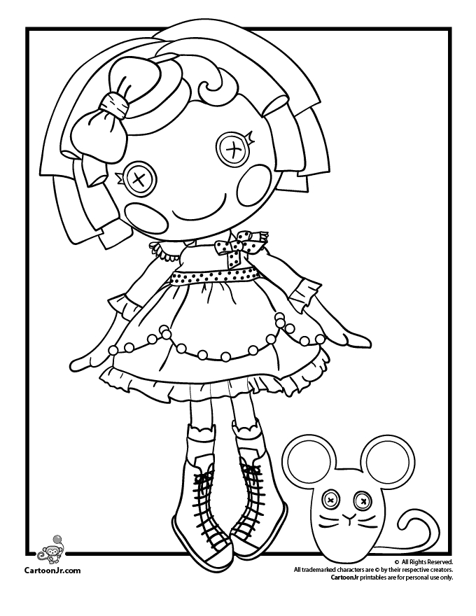 680x880 Lalaloopsy Coloring Pages Printable Coloring Page