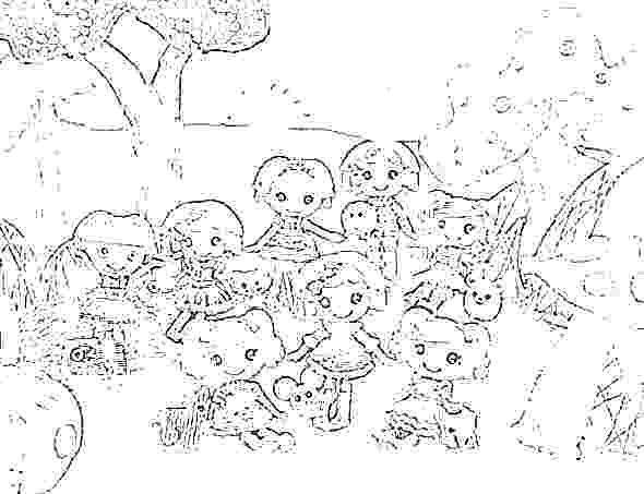 590x453 Lalaloopsy Coloring Pages Baby Coloring Pages The Best Lalaloopsy