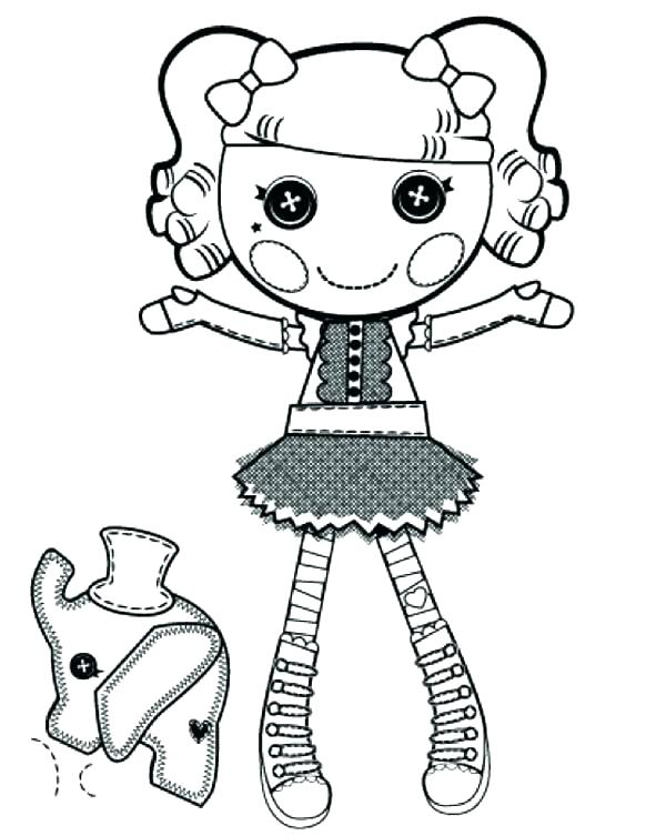 600x753 Lalaloopsy Coloring Pages Printable Kids Coloring Coloring Page