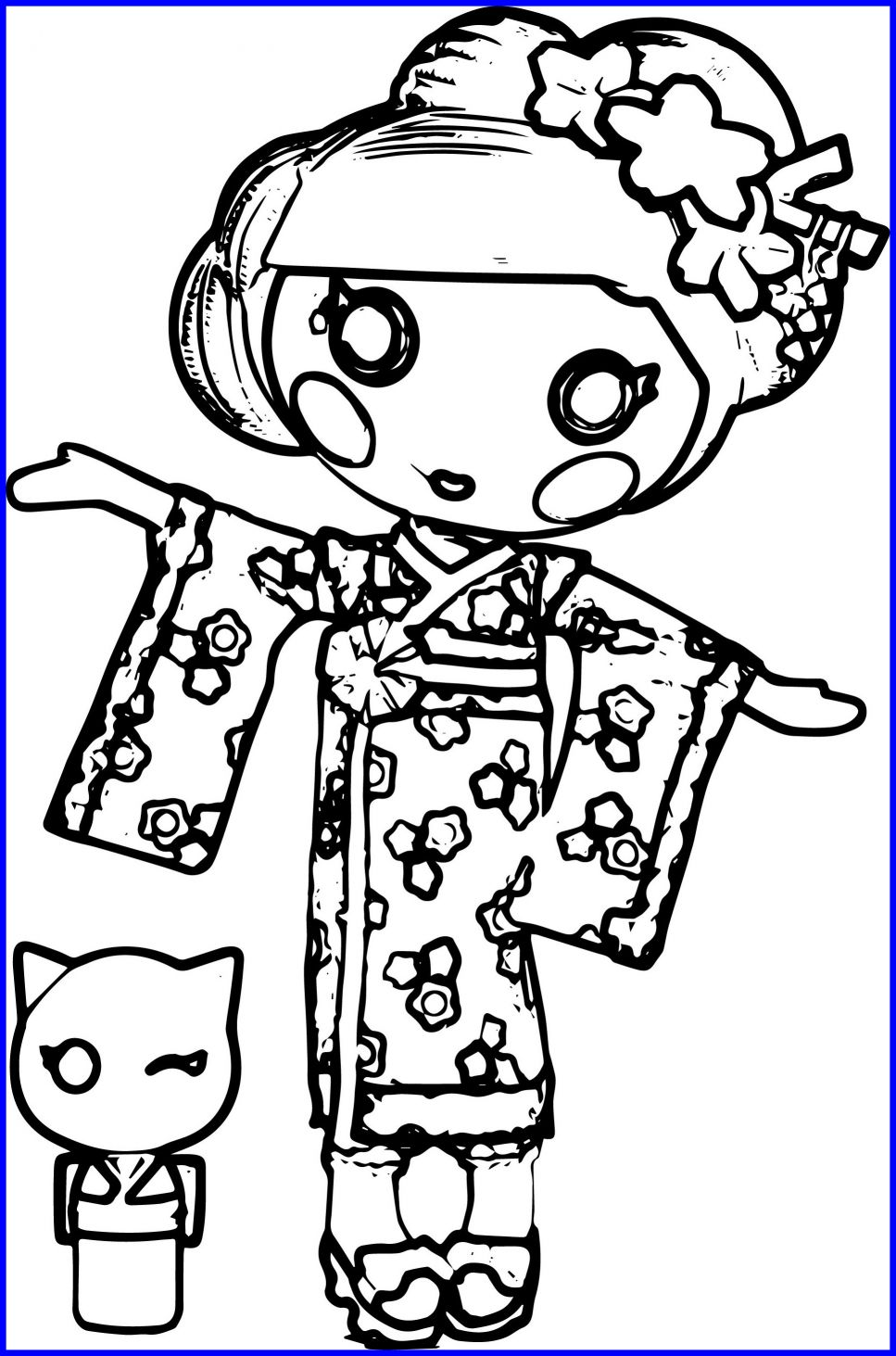 967x1463 Printable Lalaloopsy Coloring Pages