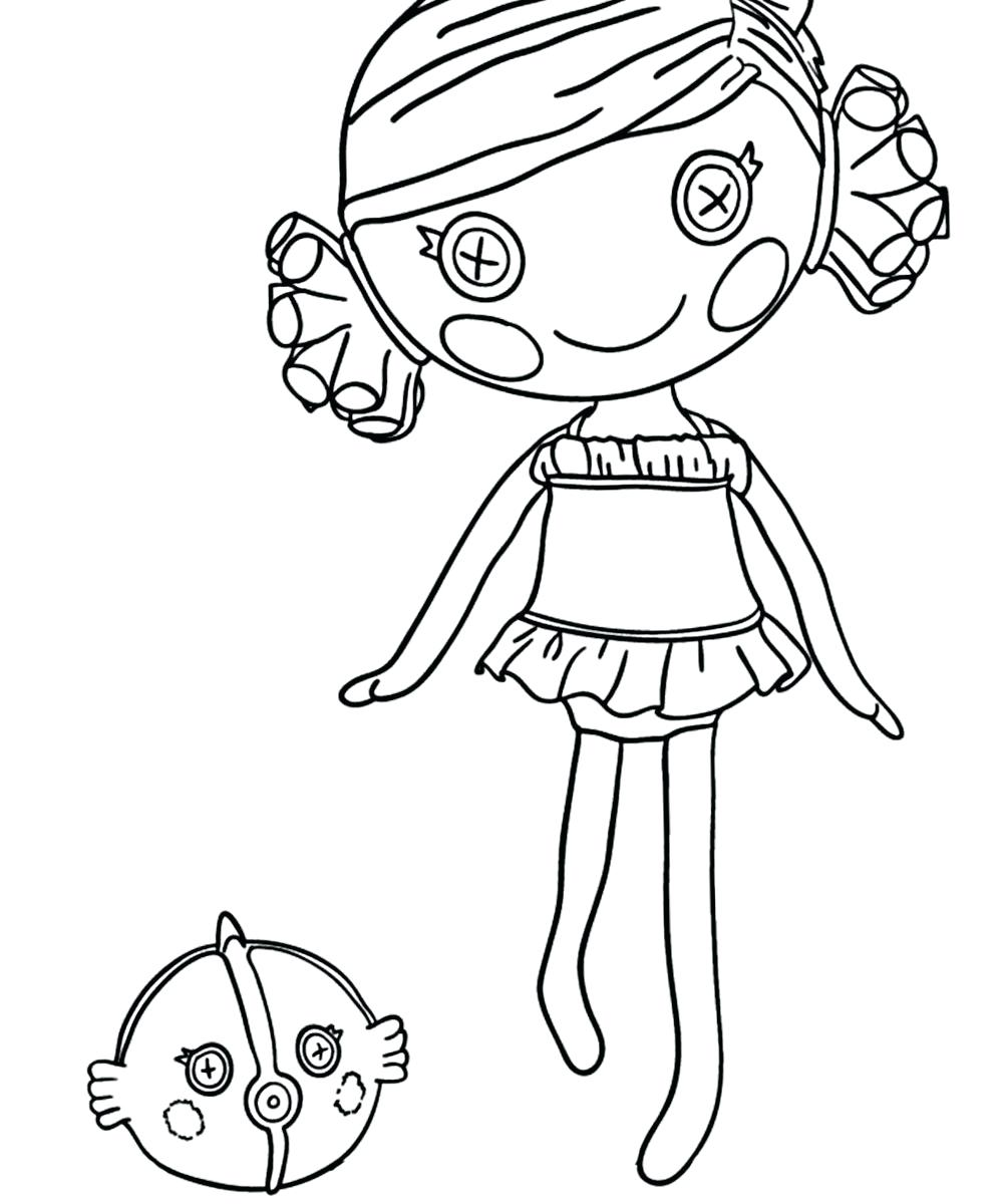 1000x1200 Lalaloopsy Coloring Pages To Print Best Snoopy Images Arilitv