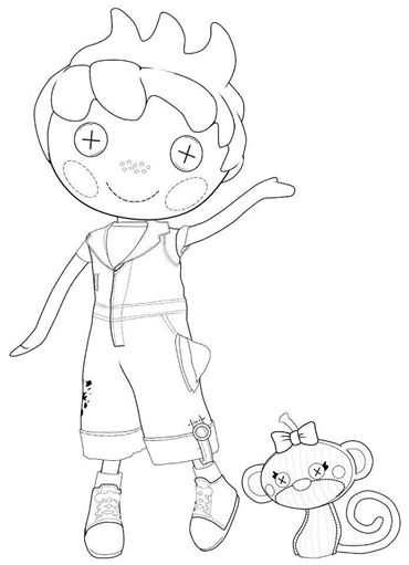 Lalaloopsy Coloring Pages To Print At Getdrawings Com Free For
