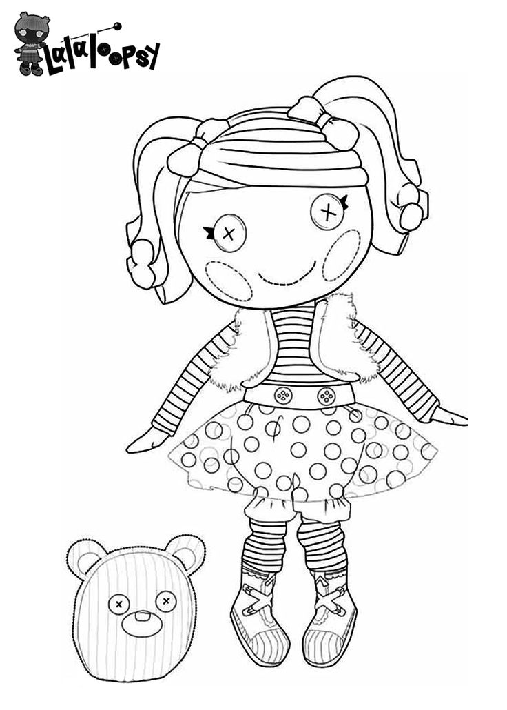 Lalaloopsy Mermaid Coloring Pages at GetDrawings.com | Free ...