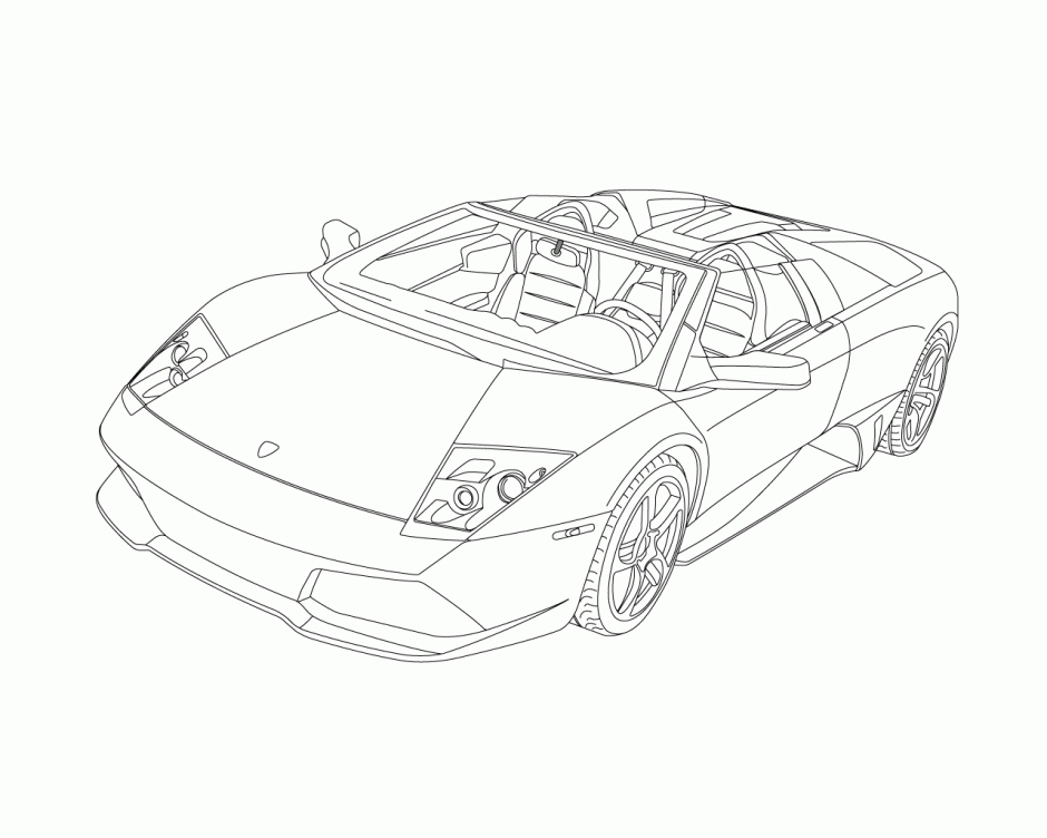 Lambo Coloring Pages At Getdrawings Com Free For Personal Use