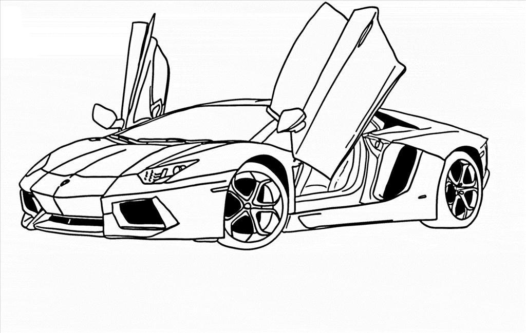Supercars Gallery: Lamborghini Aventador Supercar Coloring ...