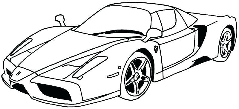 Lamborghini Car Coloring Pages At Getdrawings Com Free For