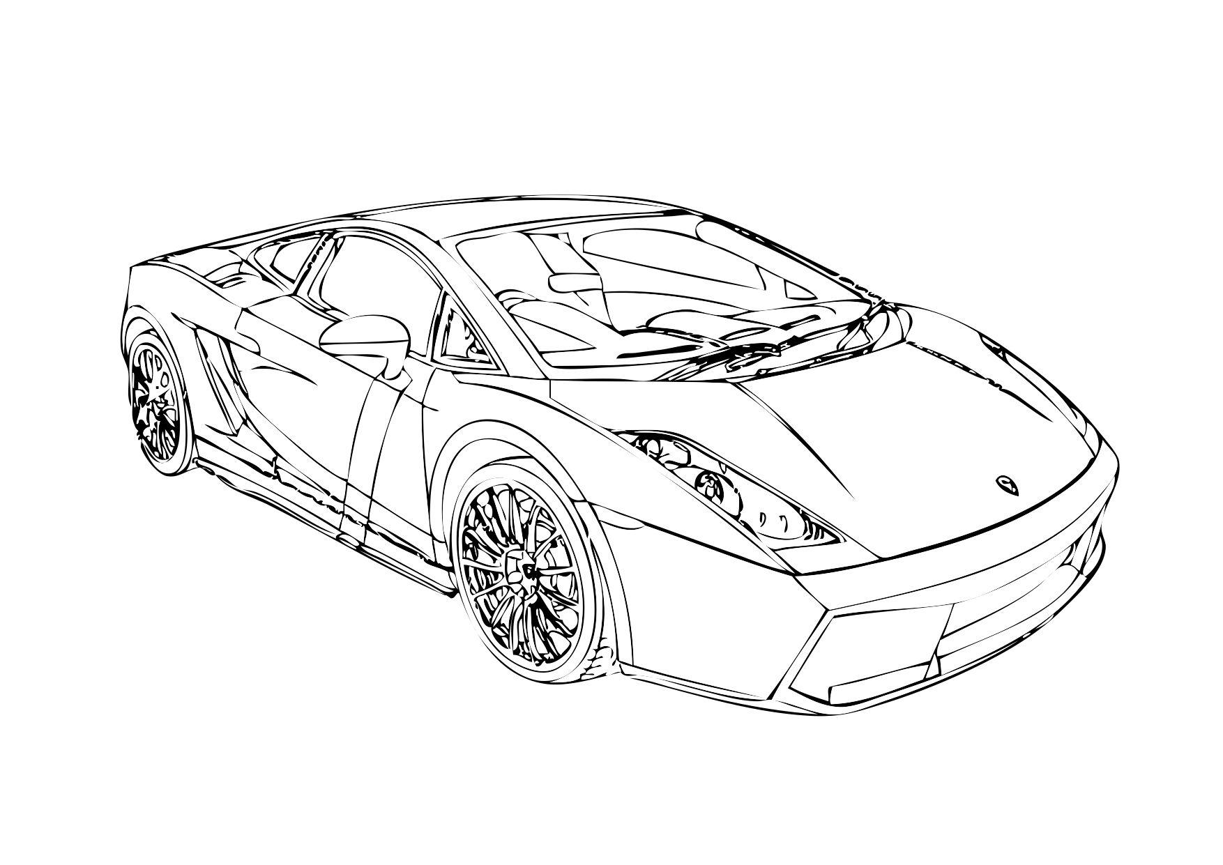 Lamborghini Reventon Coloring Pages at GetDrawings   Free ...