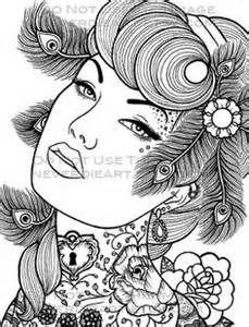 229x300 Coloriage Lana Del Rey