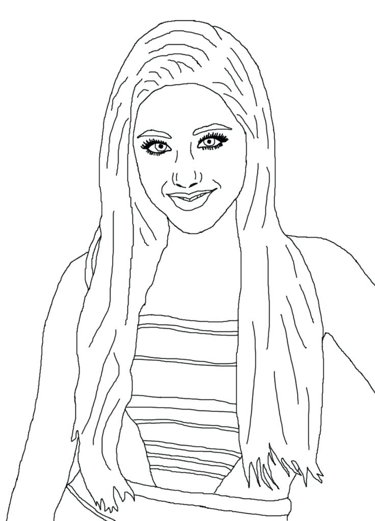 736x1024 Coloring Pages Celebrity Coloring Book