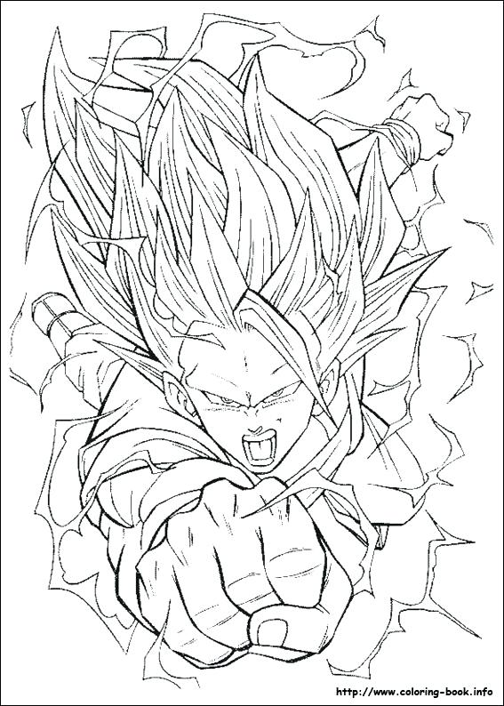 567x794 Dragon Ball Coloring Pictures Ing Dragon Ball Z Coloring Pages
