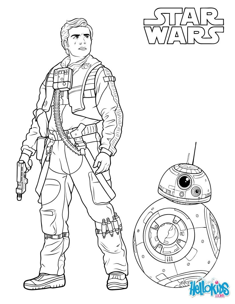 820x1060 Rey The Force Awakens Coloring Pages Hellokids Com Stuning Page