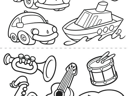 440x330 Transportation Coloring Pages Transportation Coloring Pages Free