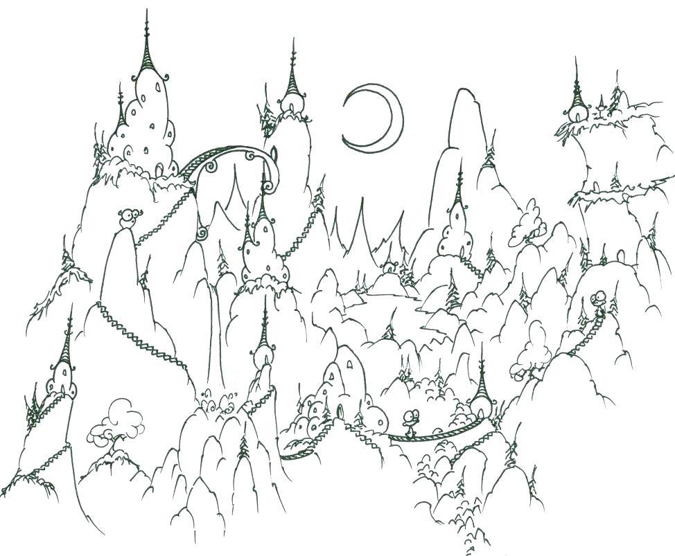 974x803 Landforms Coloring Sheets Landforms Coloring Pages