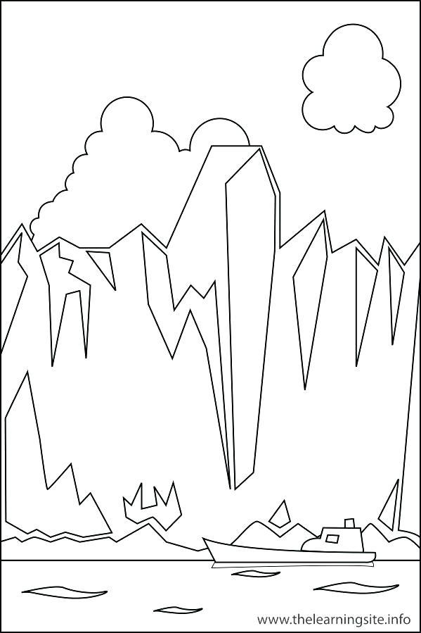 599x899 Landform Coloring Pages