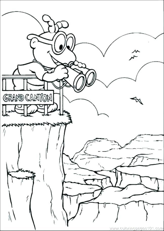 650x912 Landform Coloring Pages