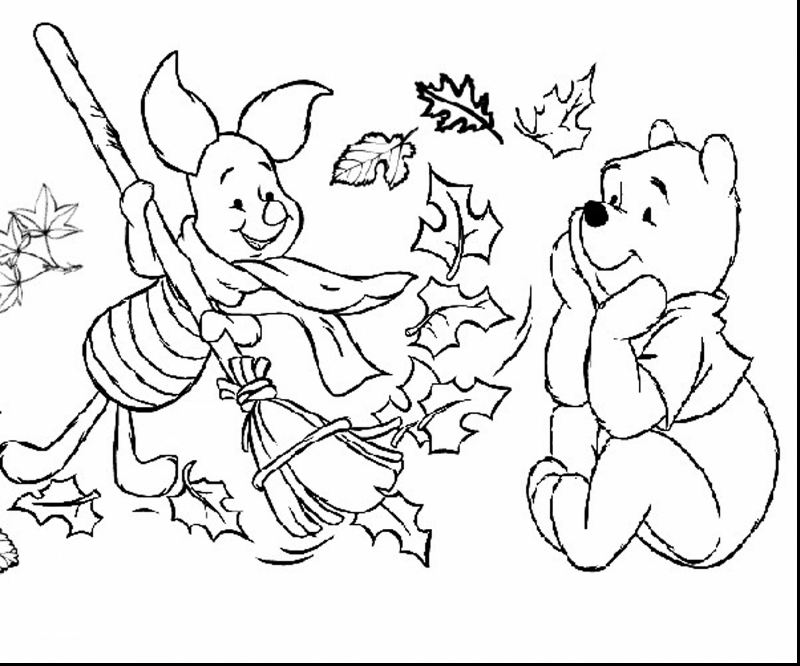 2805x2337 Incredible Fall Landscape Coloring Page With Pages Free