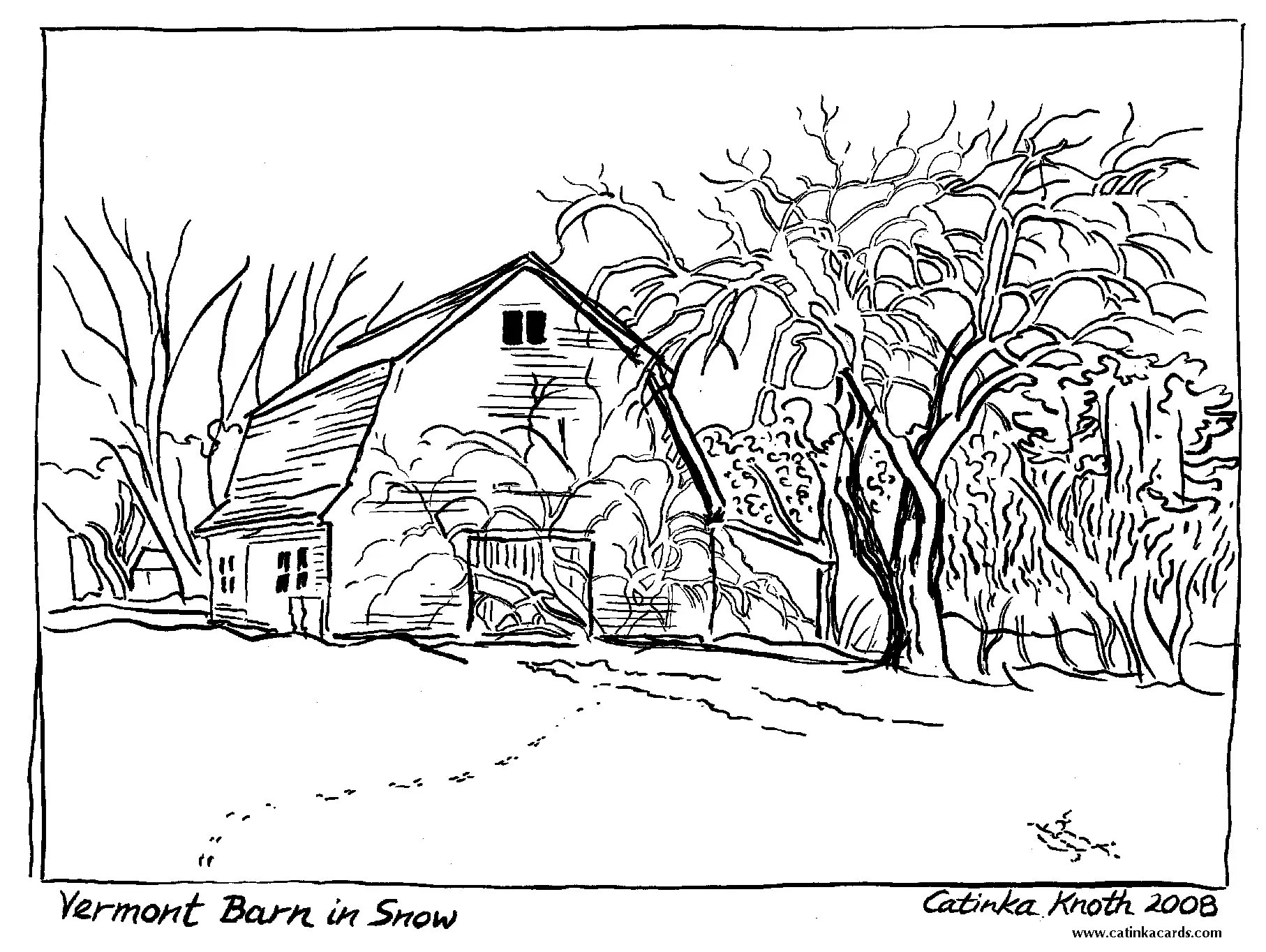 1814x1364 Landscape Coloring Pages For Adults