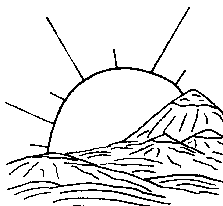 Landscape Coloring Pages at GetDrawings.com | Free for personal use ...