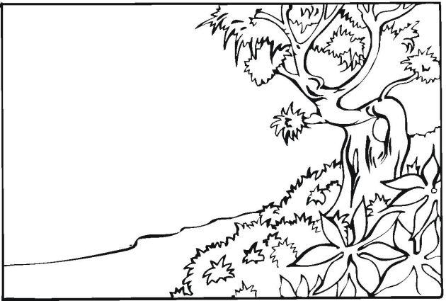 630x425 Free Landscape Coloring Pages Printables