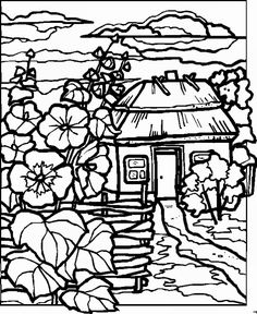 236x288 Landscape For Adults Free Coloring Pages On Art Coloring Pages