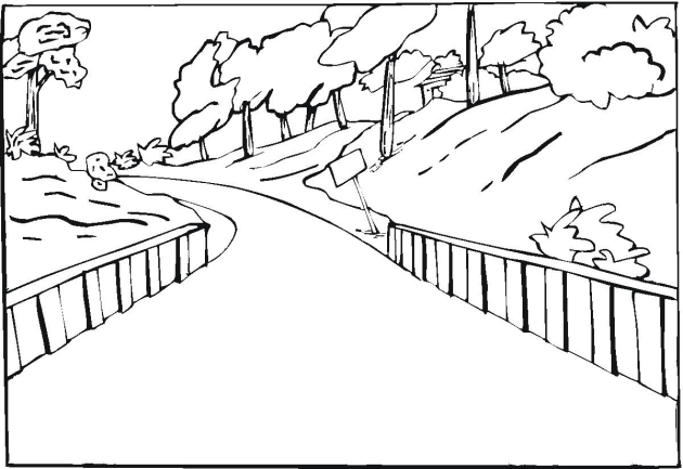 630x433 Free Landscape Coloring Pages