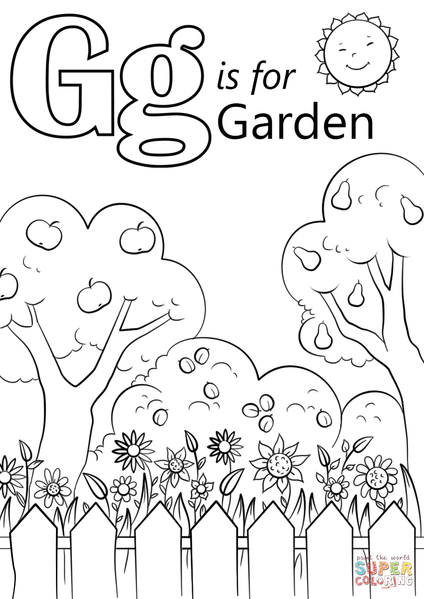 849x1200 Letter G Coloring Pages With Wallpapers Laptop Mayapurjacouture