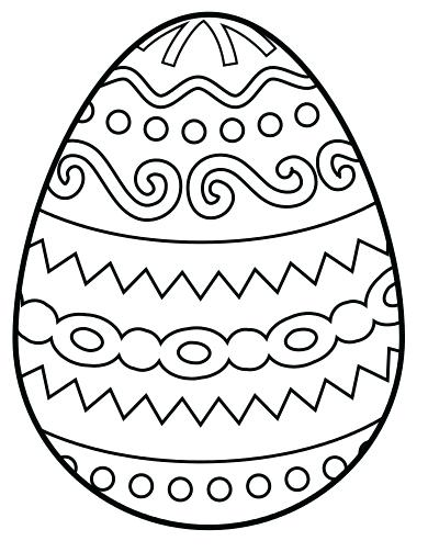 390x503 Easter Egg Color Sheets Egg Coloring Coloring Pages For Kids Free