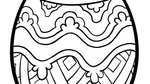 500x280 Egg Colouring Page Template Coloring Page Easter Egg Egg Colouring