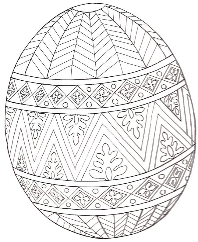 650x792 Coloring Pages Easter Eggs Large Easter Egg Mural Design Egg