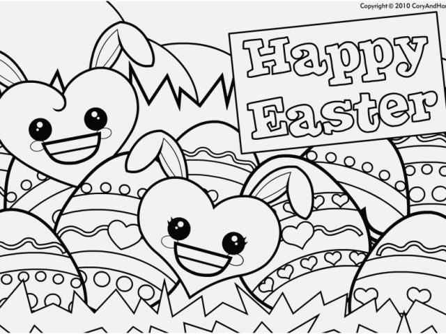 640x480 Coloring Page Large Easter Egg View Cute Easter Eggs Coloring