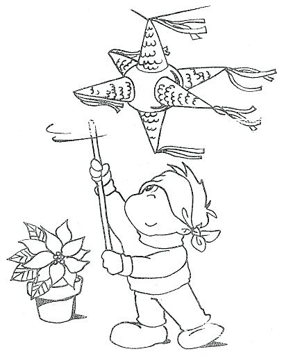 409x512 Las Posadas Coloring Pages Coloring Pages Las Posadas Coloring
