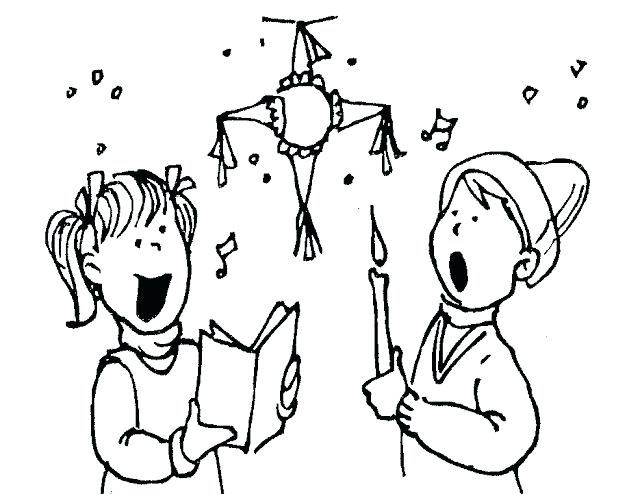 640x494 Las Posadas Coloring Pages