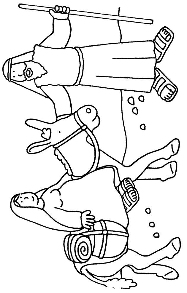 Las Posadas Printable Coloring Pages