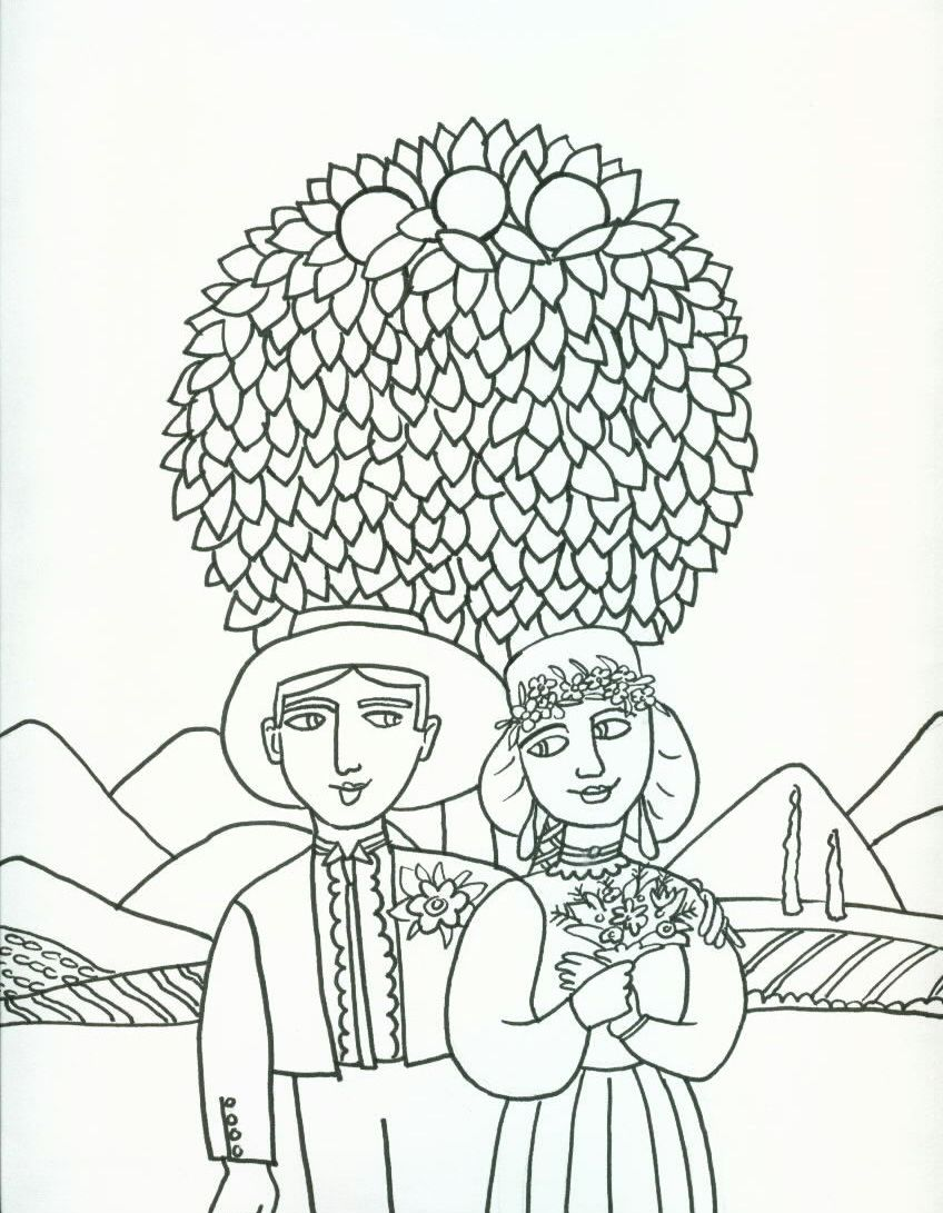 848x1091 Beautiful Coloring Pages From Josefina