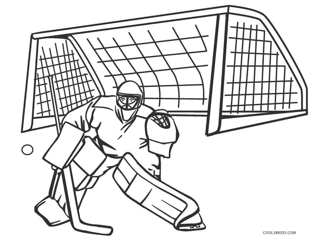 1035x800 Free Printable Hockey Coloring Pages For Kids