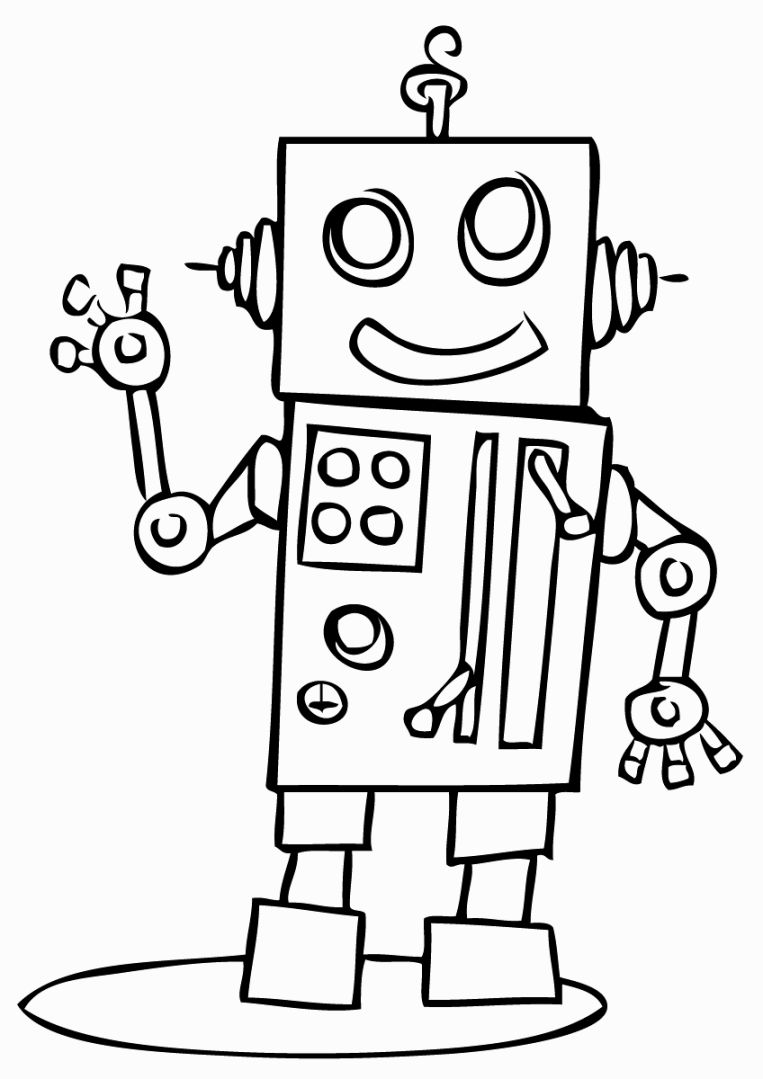 763x1079 Robots Coloring Pages Coloring Pages Robot