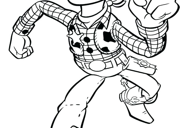 800x544 Coloring Pages Valentines Day Disney Woody Sketch