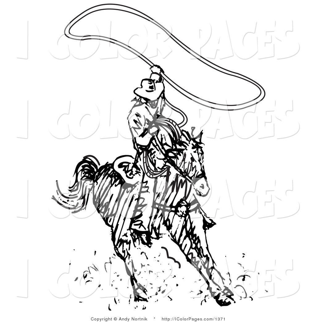1024x1044 Cowboy Lasso Coloring Page Bigking Keywords And Pictures
