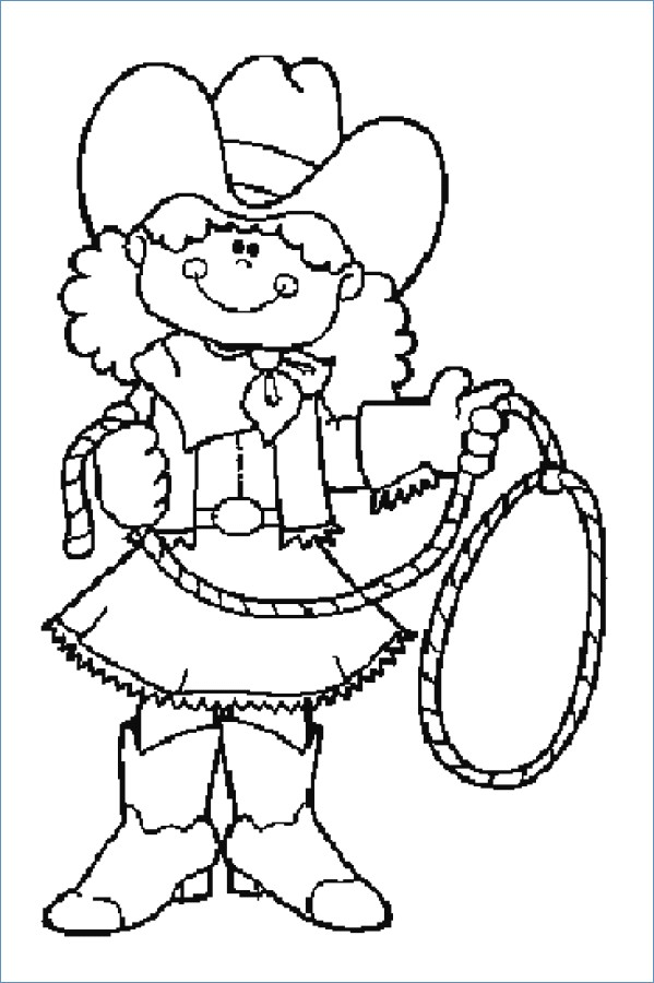 599x900 Jessie And Bullseye Lasso Toy Story Coloring Pages
