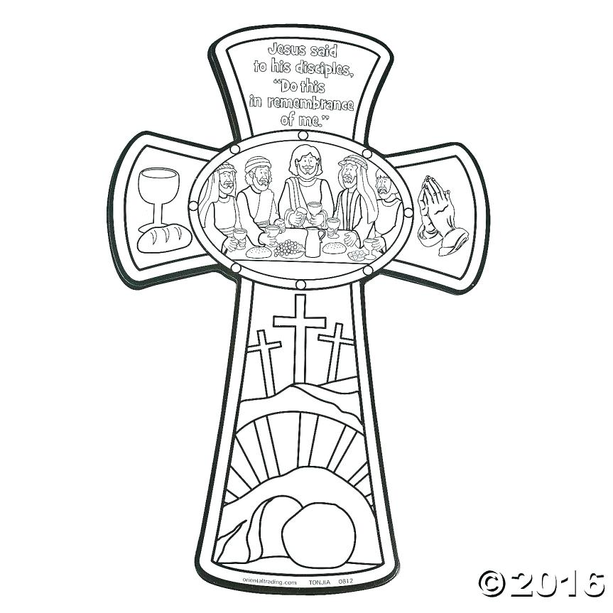 863x863 Coloring Last Supper Coloring Page The Amazing Lent Pages Free