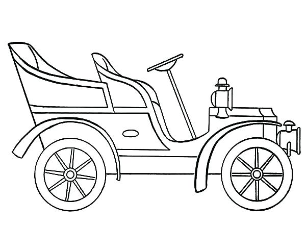 600x490 Model T Coloring Pages Ford Coloring Pages Ford Coloring Pages