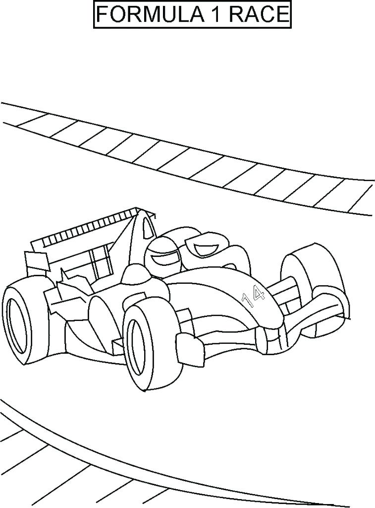 757x1024 Race Truck Coloring Pages