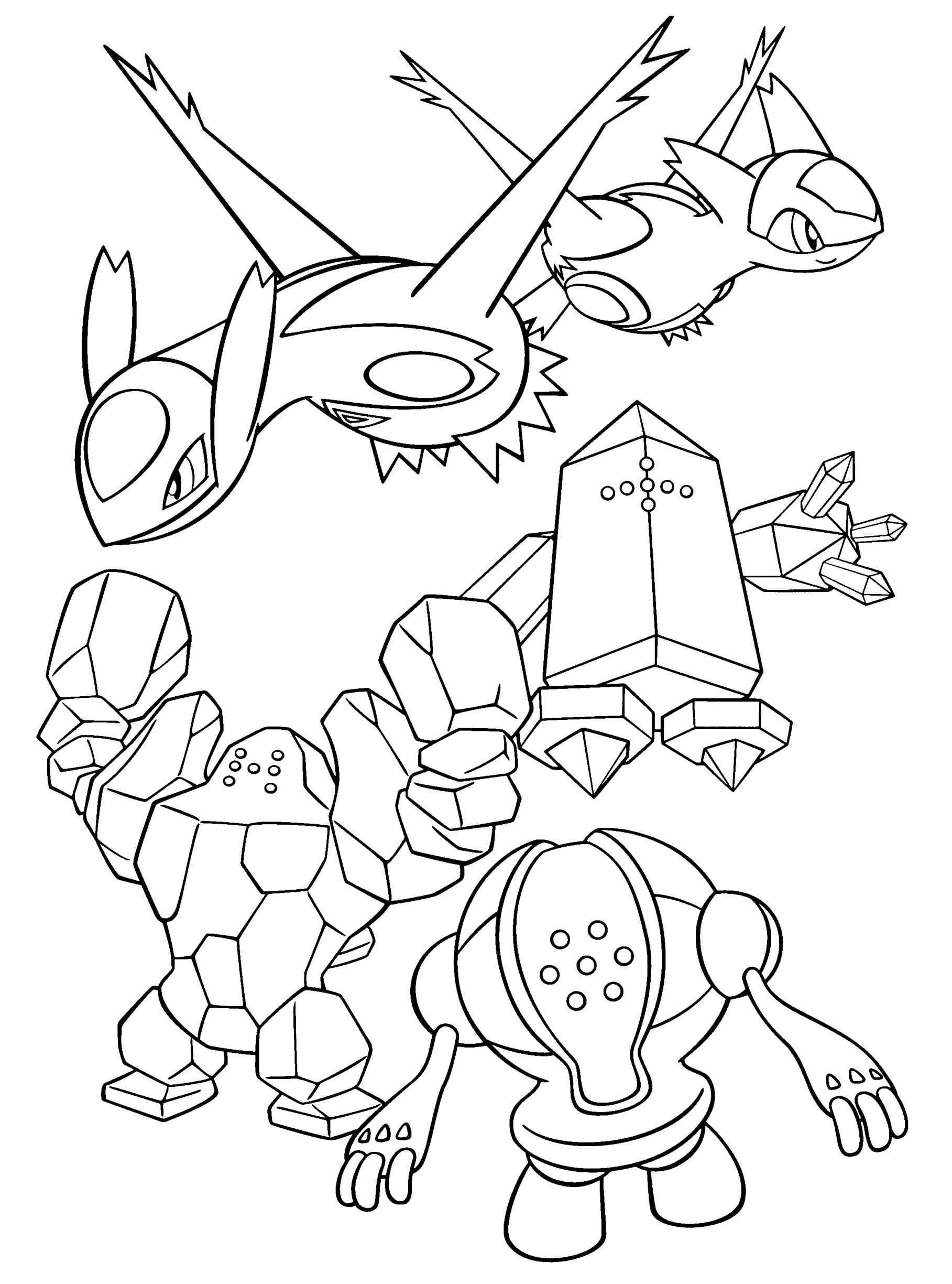 1817x2449 Just Arrived Latias And Latios Coloring Pages