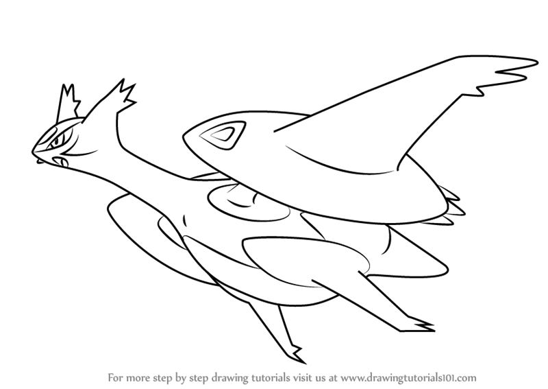 800x567 Learn How To Draw Mega Latios From Pokemon