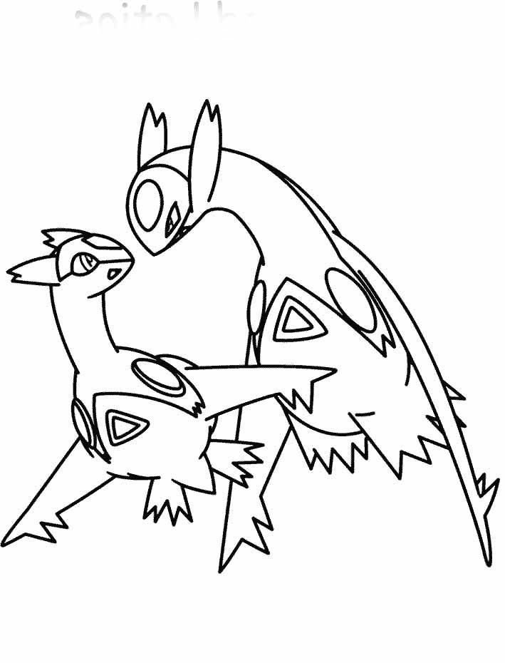 709x930 Pokemon Latias And Latios Coloring Page Pokemon