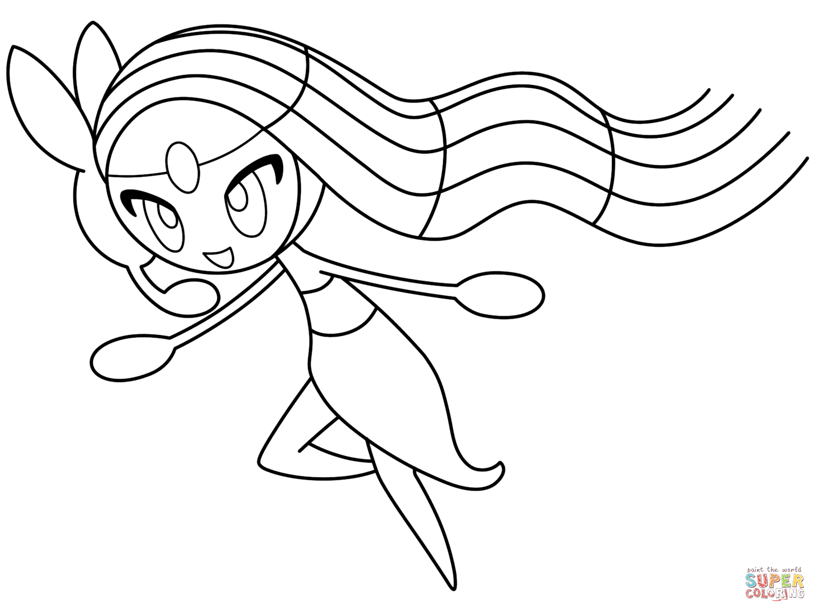 Latios Coloring Page At Getdrawings Com Free For Personal Use